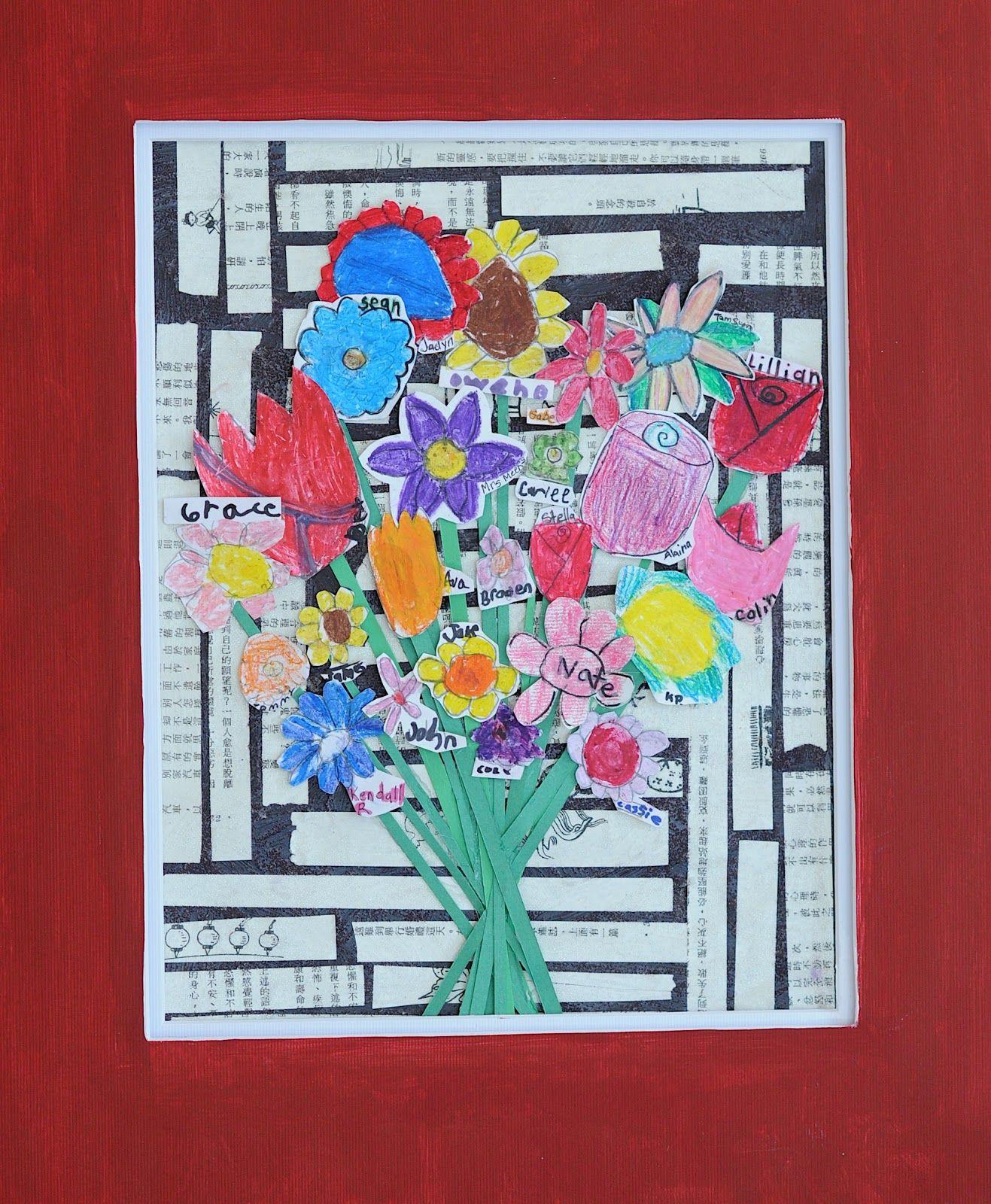 Flipzles Class Art Projects My Daughter S 2nd Grade Class