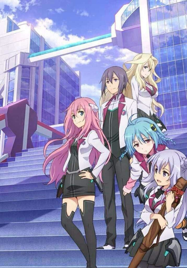 Gakusen toshi asterisk. An okay anime in my opinion