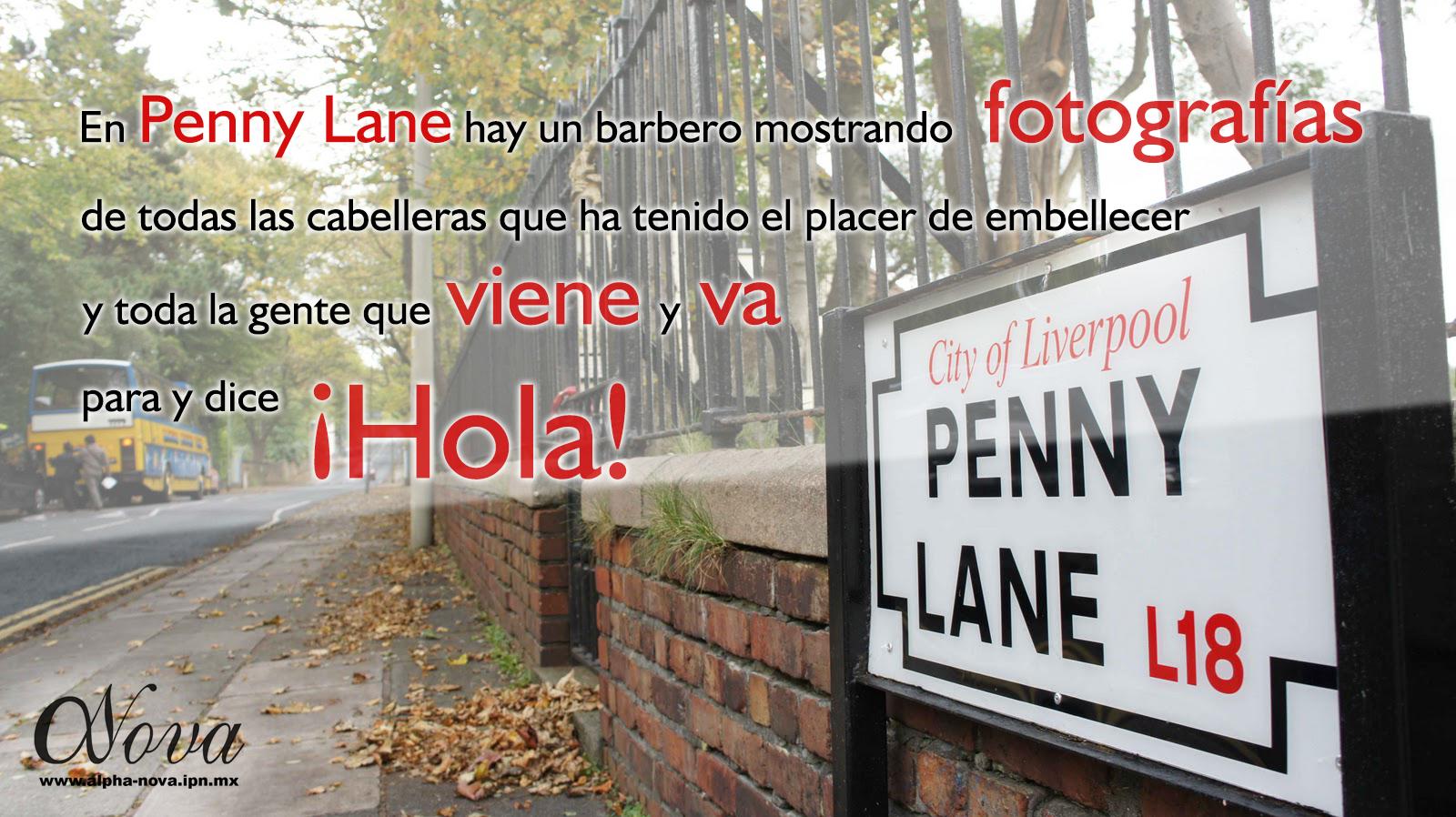 Penny Lane. EKHOS Británicos I. Febrero 26, 2015. Temporada EKHOS.