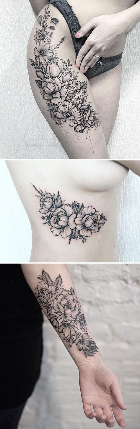 15 tatouages de fleurs qui vous donneront envie de vous faire tatouer tattoo tattoos arm. Black Bedroom Furniture Sets. Home Design Ideas