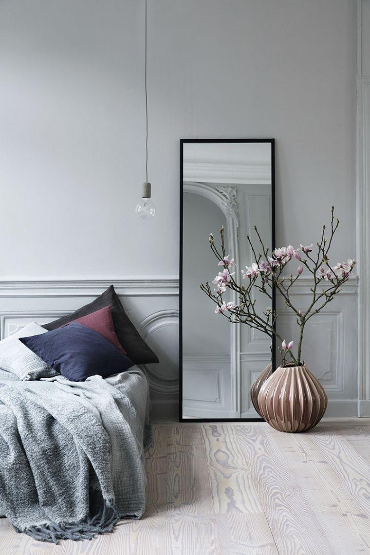 Quel miroir dans une chambre d\'adulte contemporaine ?   Projets pour ...