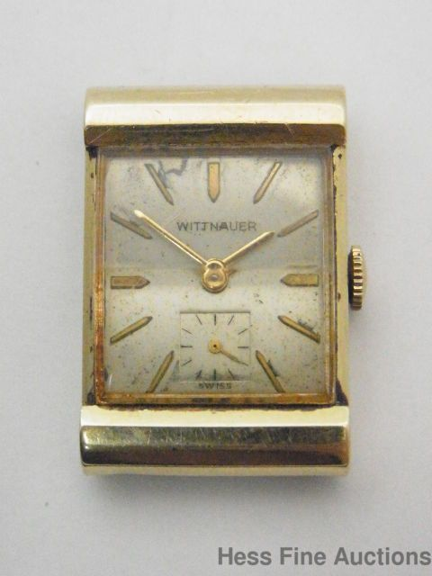 Cool Heavy 14k Gold Longines Wittnauer