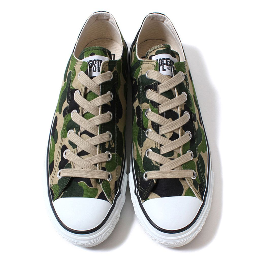 785b22b5 ABC CANVAS APE STA LOW | BAPE LONDON | SNEAKERS | Mens fashion:__cat ...
