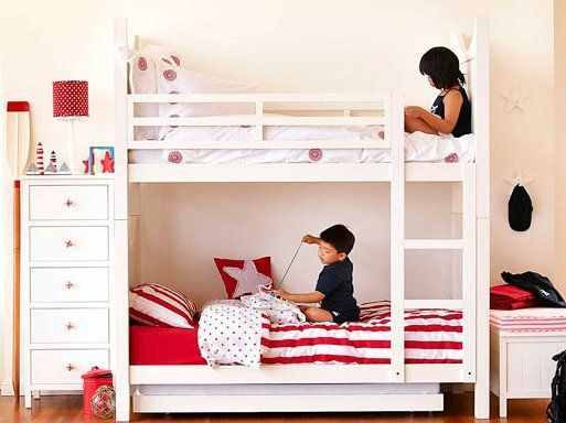Loft Bunk Bed Suitable For Narrow House Modern Bunk Beds Cool