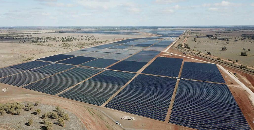 Neoen S Solar Farm Is Now The Largest Fully Operational Pv Facility In Australia Solar Farm Solar Solar Energy Facts