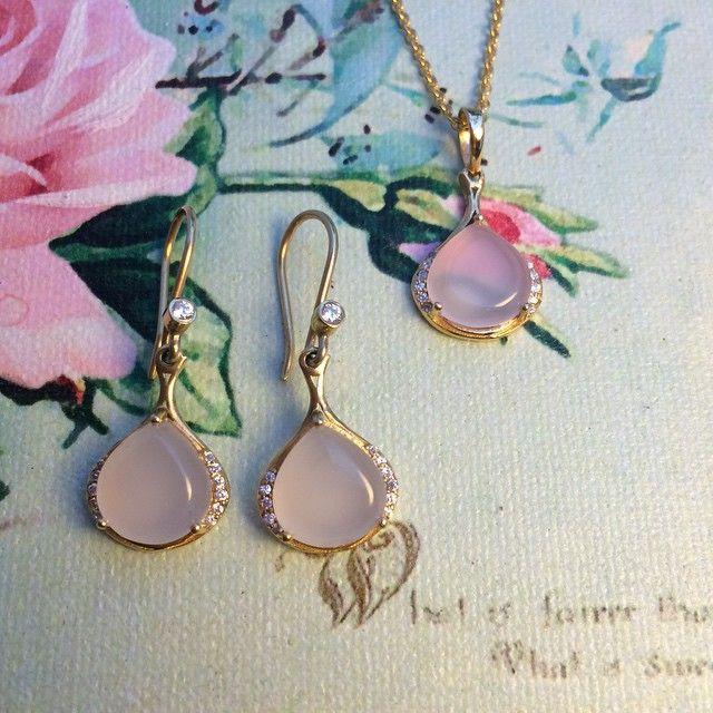 needsjewellery #Fevency #rosecalcedone #needsjewellery
