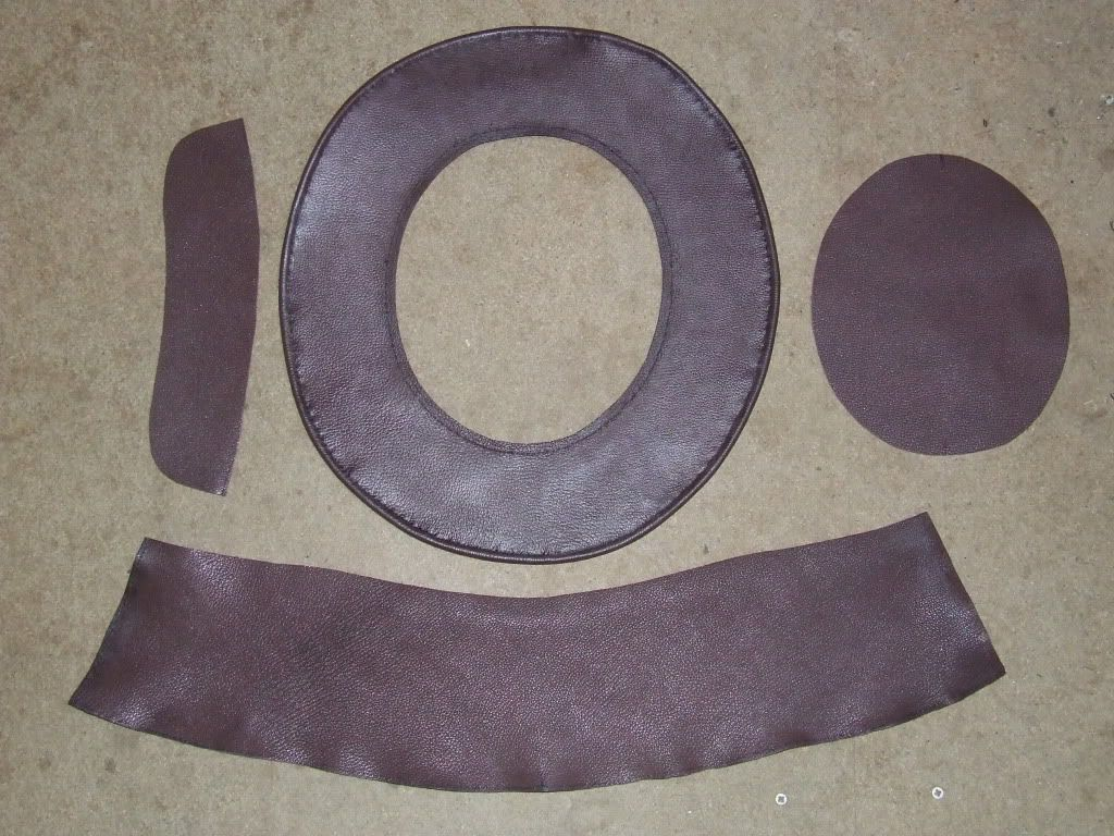 Leather Aussi Bush Hat The Making Of Diy Leather Hat Leather Hat Pattern Leather Hats
