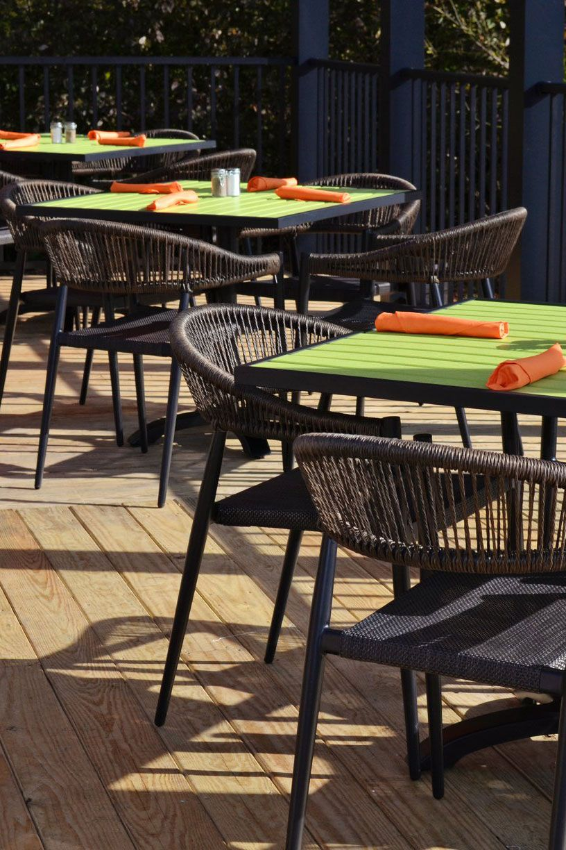 Beautiful And Durable Outdoor Restaurant Furniture Commercial
