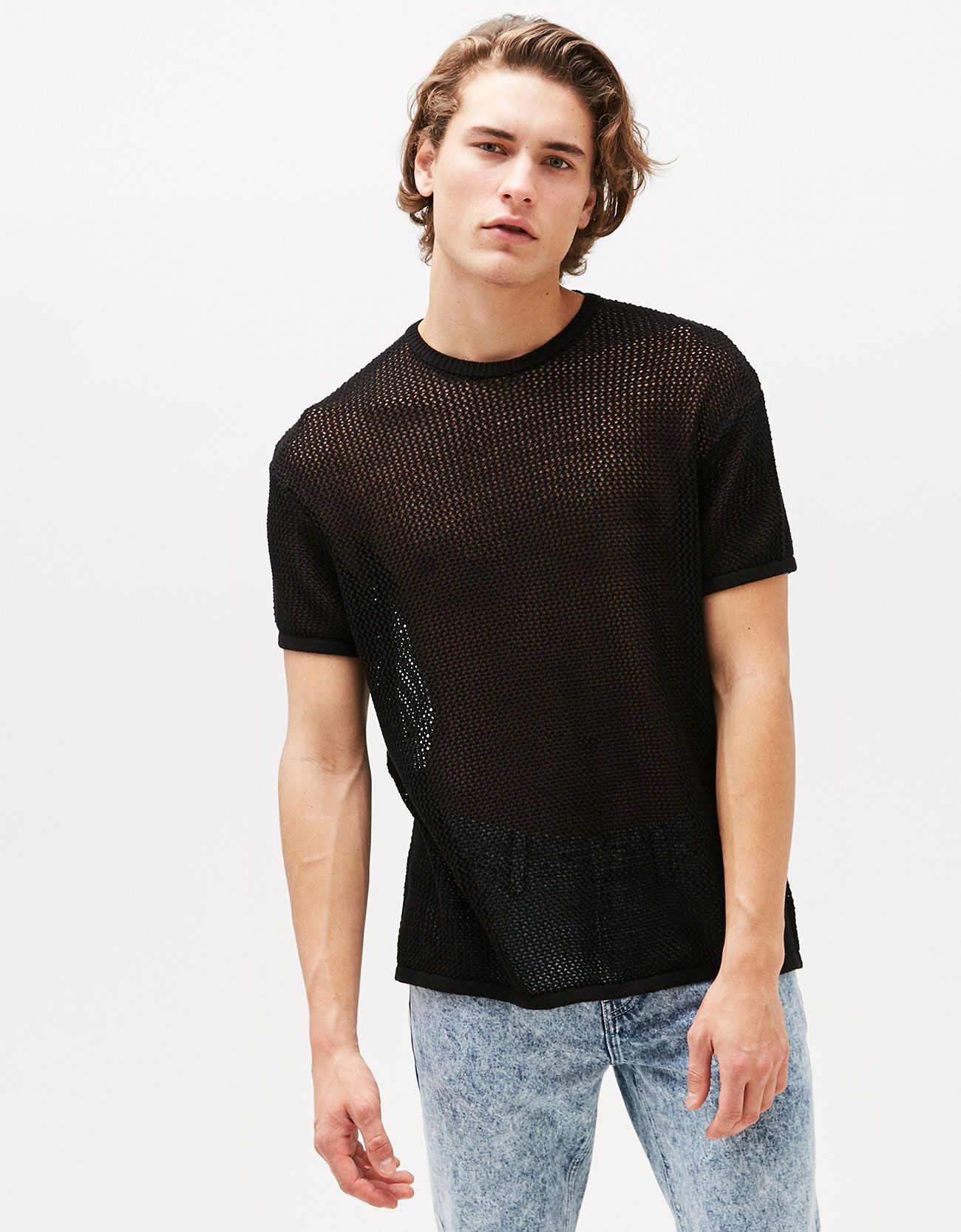 camiseta rejilla chico
