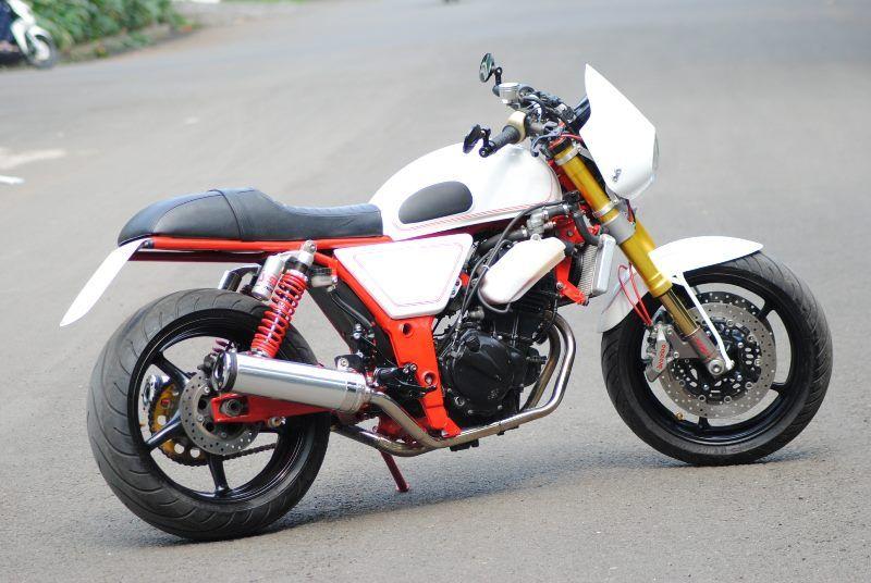 Kawasaki Ninja 300 Cafe Racer Google Search Bikers Kawasaki