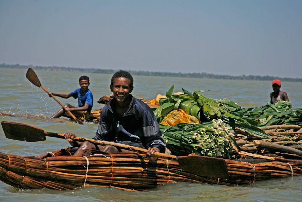 Lake Tana reed boats