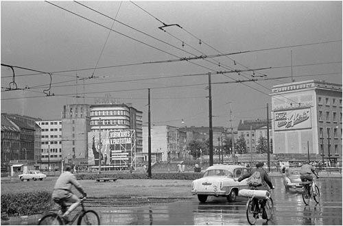 Plakat Fur Den V Parteitag Der Sed In Ostberlin 1958 Www Ddr Fotos De Ddr Fotoarchiv Von Marco Bertram Ostberlin Ddr Berlin