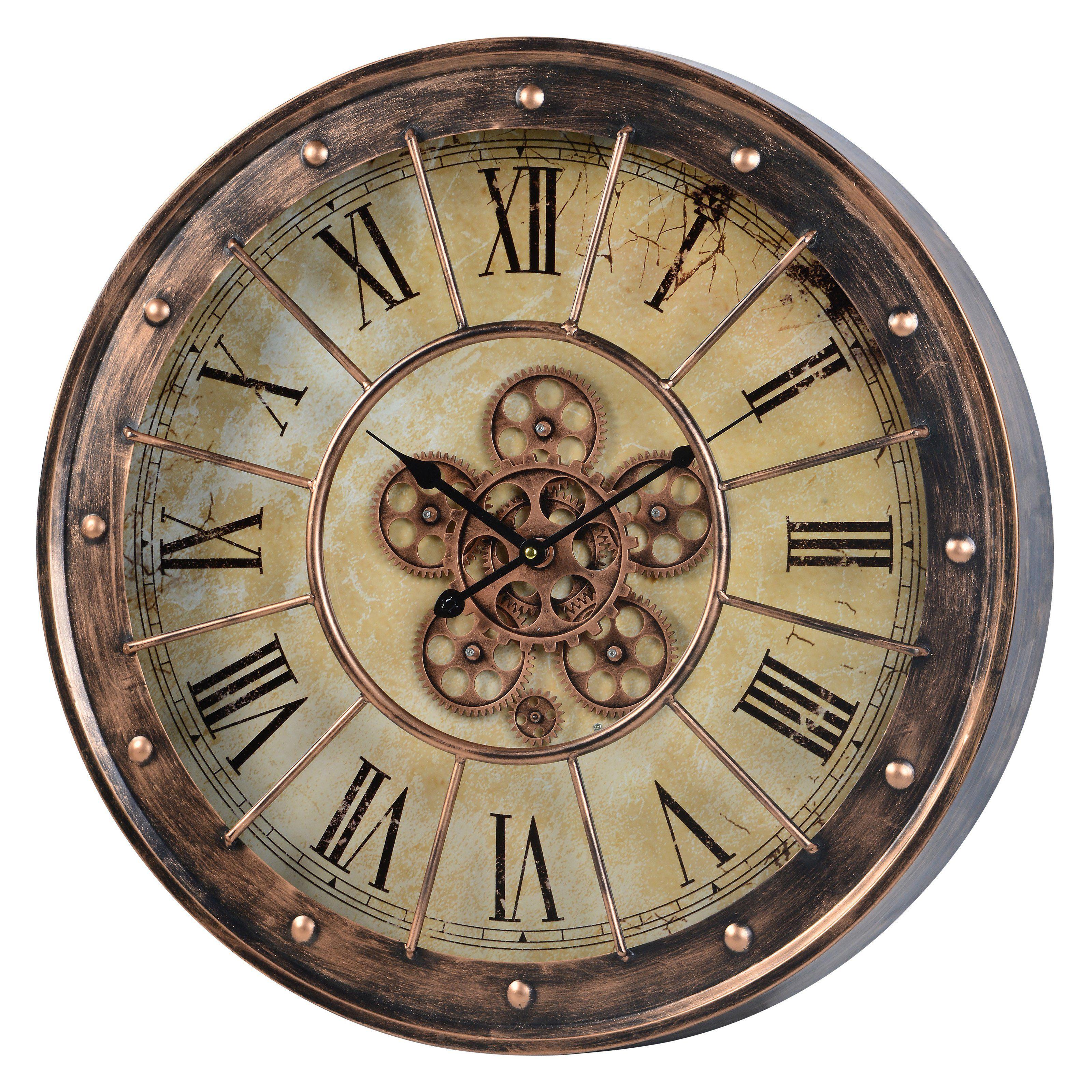 Cooper Classics Corbets Oversized Wall Clock From Hayneedle Com Oversized Wall Clock Wall Clock Clock