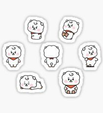 Pegatina 'BT21 Baby RJ Set' de cypher4mp3