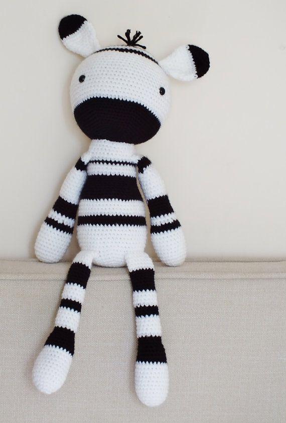 Amigurumi Pattern - Zebra PDF Crochet Pattern - Tutorial Digital ... | 842x570