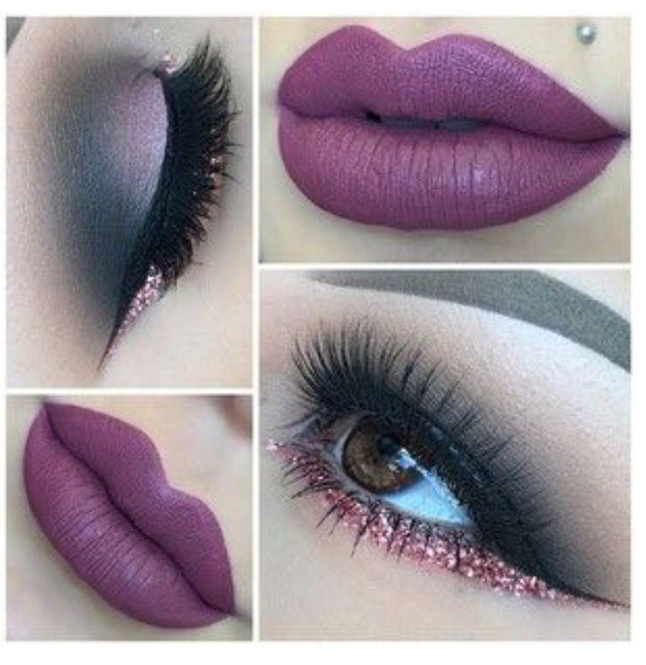 Cute lip piercing ideas  Smokey eyes  Beauty  Pinterest  Eye Makeup and Lips
