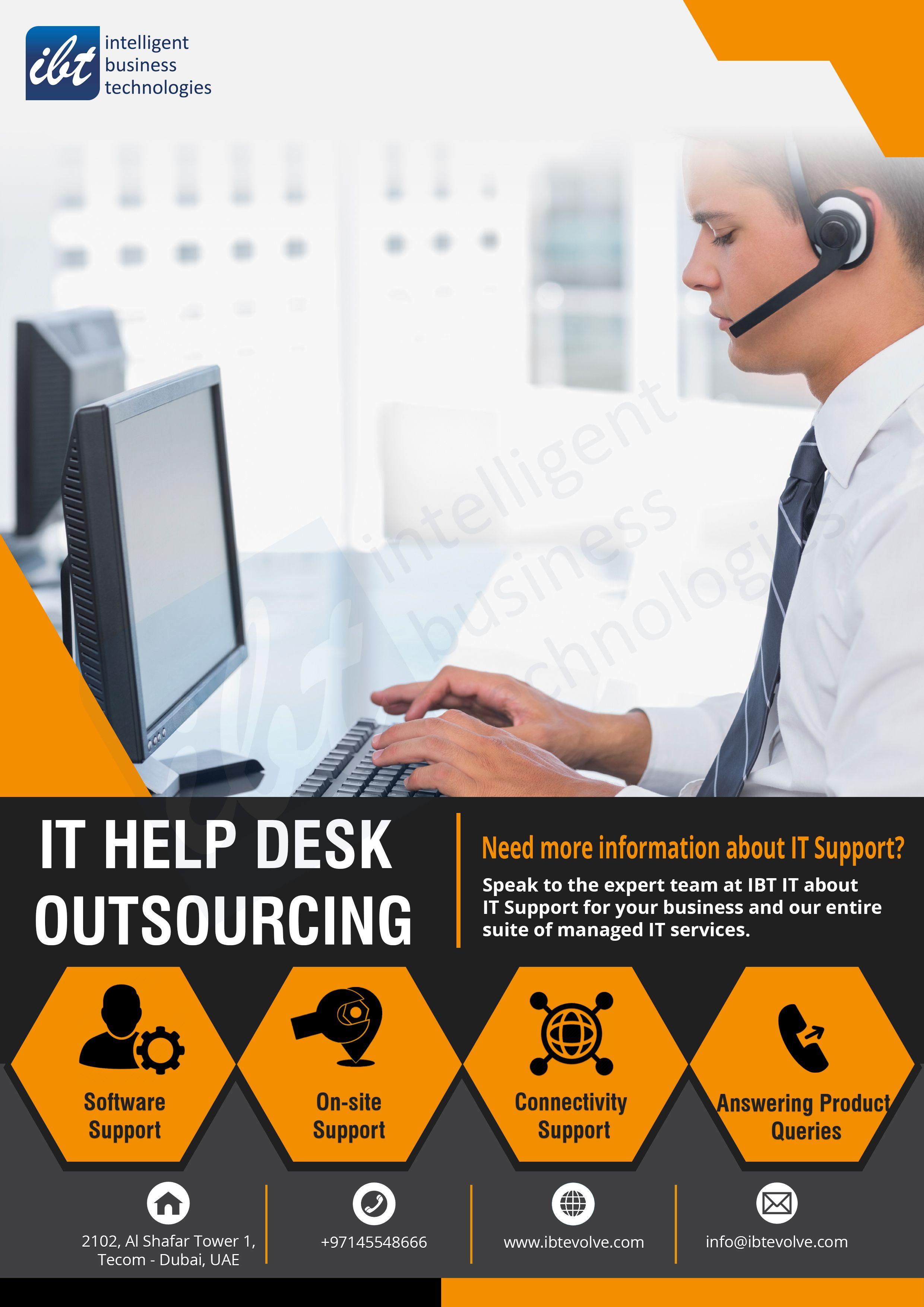 It Help Desk Services Managed It Services Knowledge Management Service Level Agreement