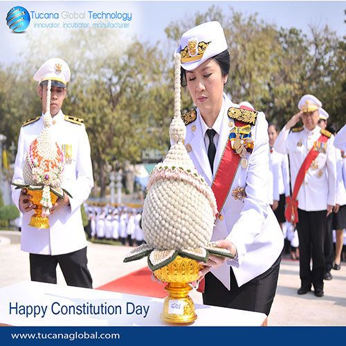 Wising Everyone A Very Happy #ConstitutionDay in #Thailand