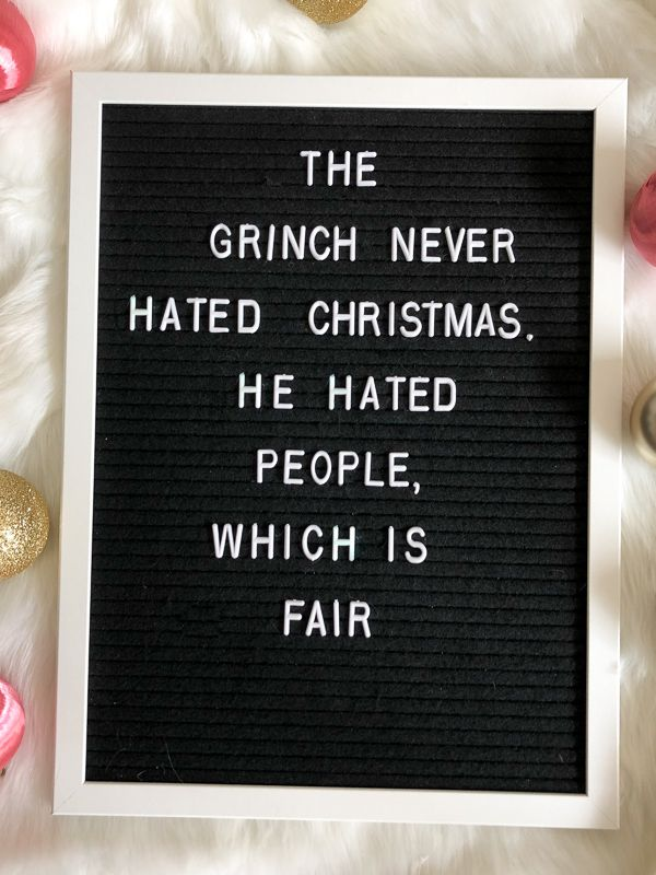 13 Christmas Letter Board Quote Ideas   Such A Sweetheart
