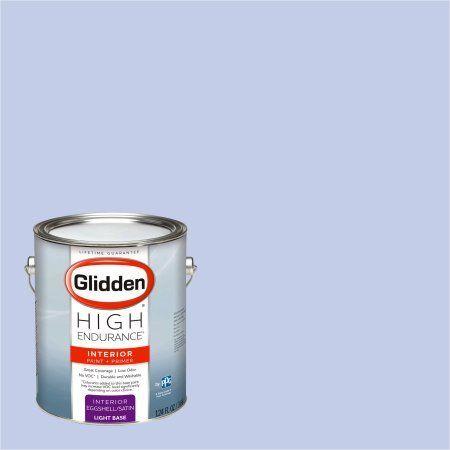 Glidden High Endurance Paint, Pearl Violet #44BB 62/134 Eggshell 1 Gallon (Base UPC 0113118440267) Color Pearl Violet, Beige