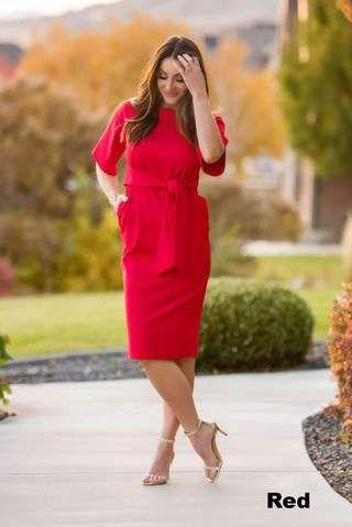 c21945441dfe4 Brigitte Brianna Monaco Dress - SexyModest Boutique