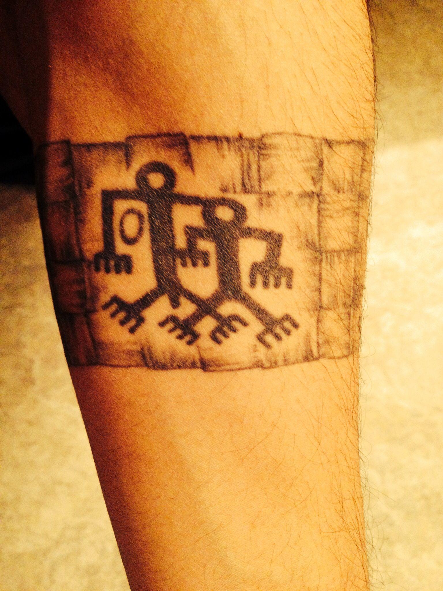 Forearm Chamorro band tattoo | Tattoos | Pinterest | Band ...  Forearm Chamorr...