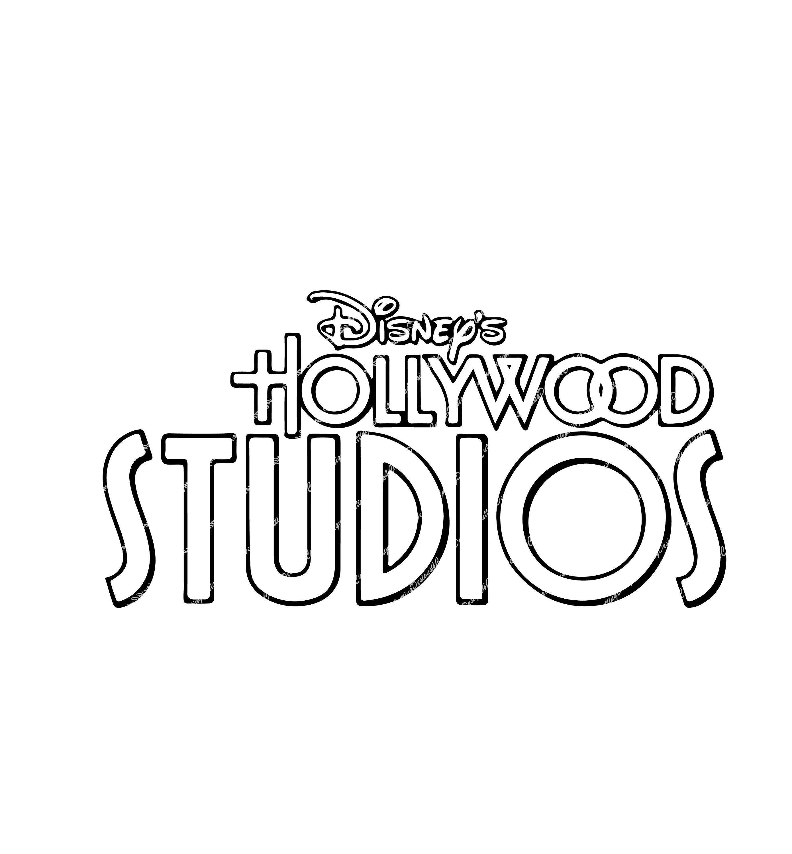 Disney's Hollywood Studios logo, great for Cricut or