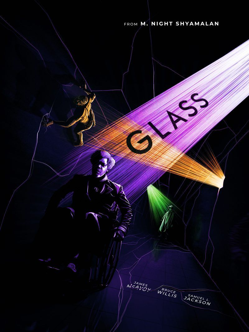 0df05219ee4 Glass (2019)  800 x 1067  Horror Movie Posters
