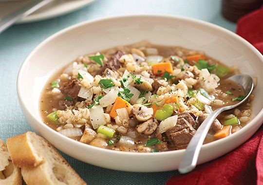 Hearty Beef Vegetable And Barley Soup Recipe Barley