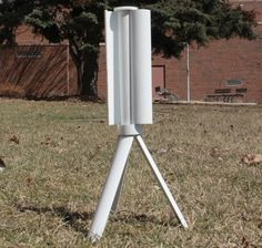 This tiny portable wind turbine fits in your bag and for Turbine eoliche domestiche