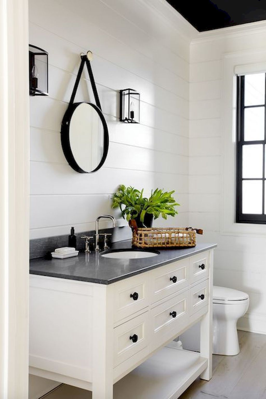 65 Rustic Farmhouse Bathroom Decor Design Ideas 7   Modern ...