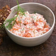 Photo of Smoked salmon tartare