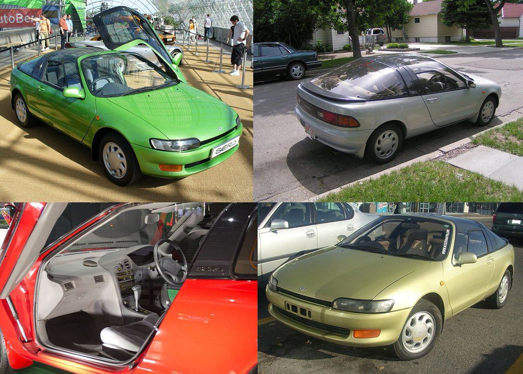 Toyota Sera. Sales from Toyota in 1990. (1990-1994) #classiccars #Japan  トヨタ・セラ 1990~1994、トヨタ