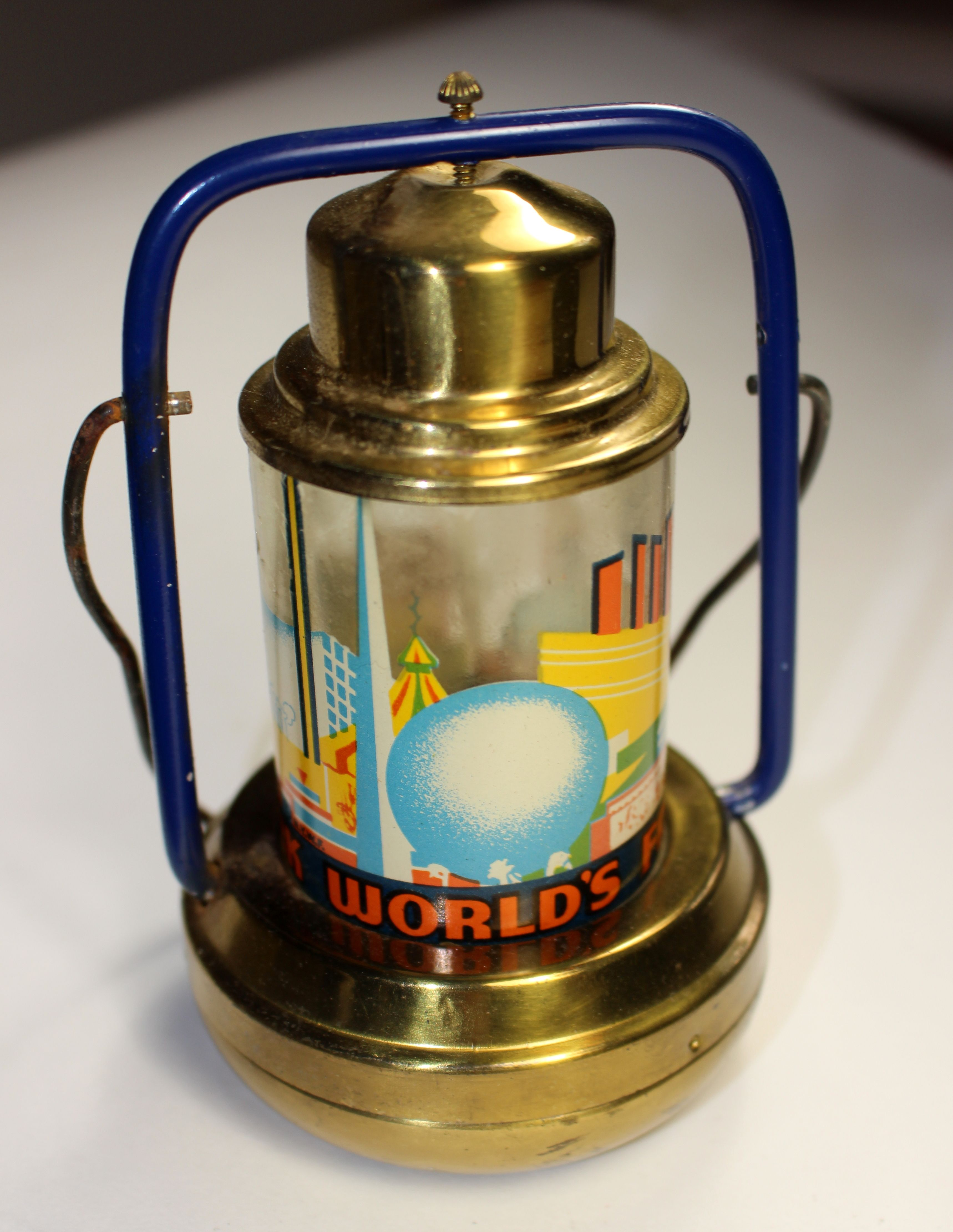 1939 New York World's Fair Lantern Lamp (With Images