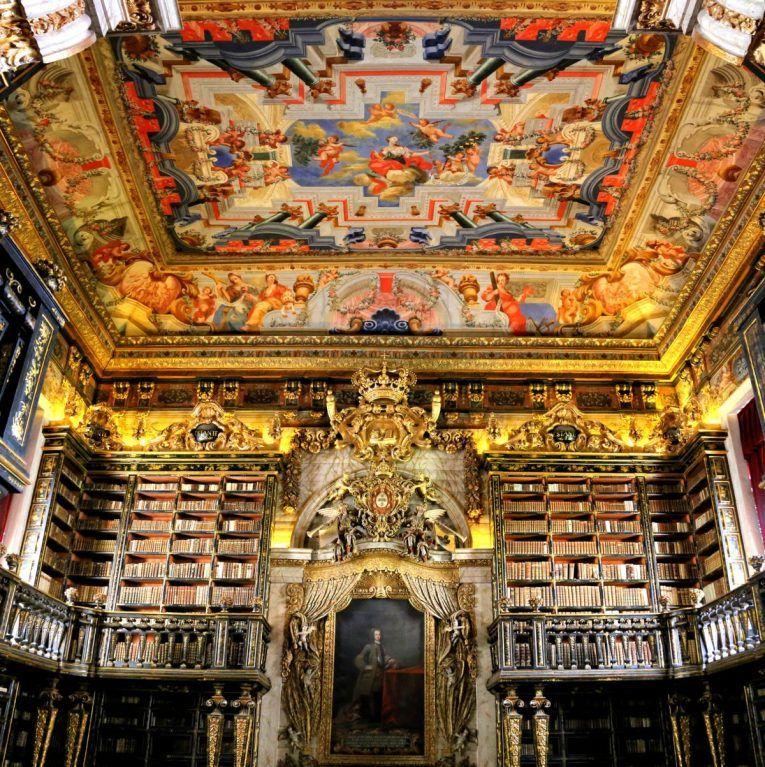 Biblioteca Joanina Da Universidade De Coimbra Monumentos
