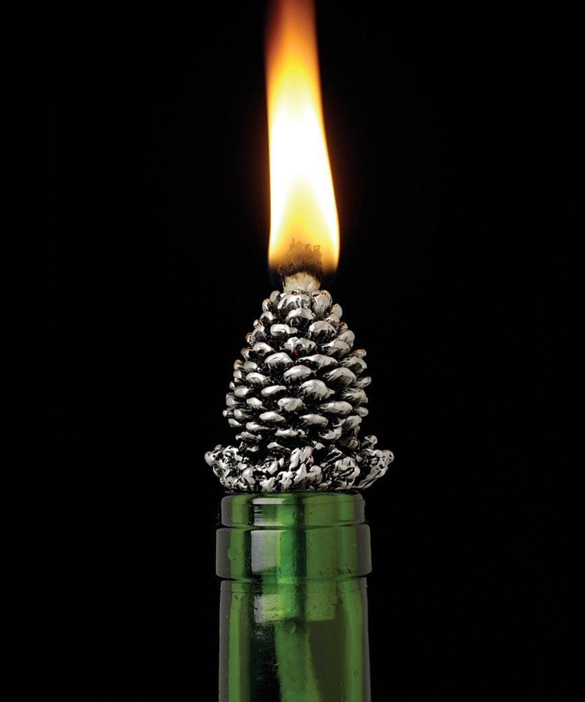 Pine Cone Bottle Wick – Holt Bros. Mercantile