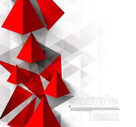 3D geometry shiny background graphic 02 free | Abstract ...