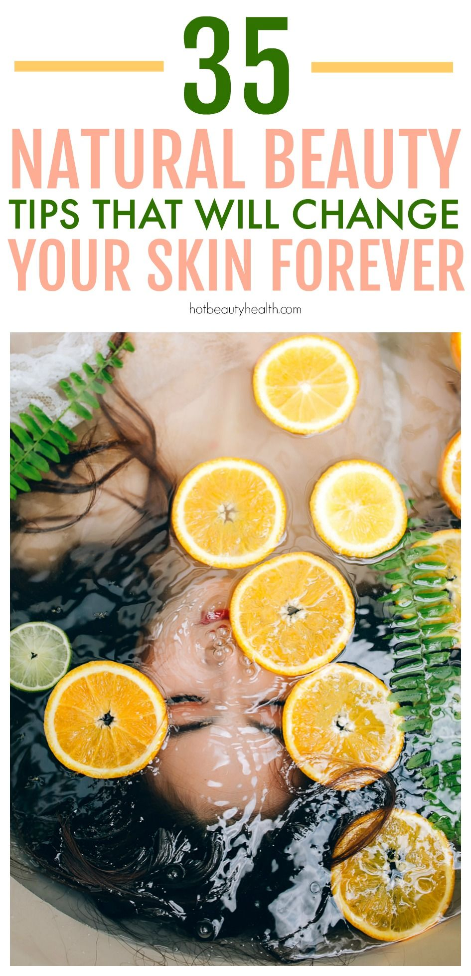 35 Best Natural Skincare Tips Ever! | Natural beauty tips ...