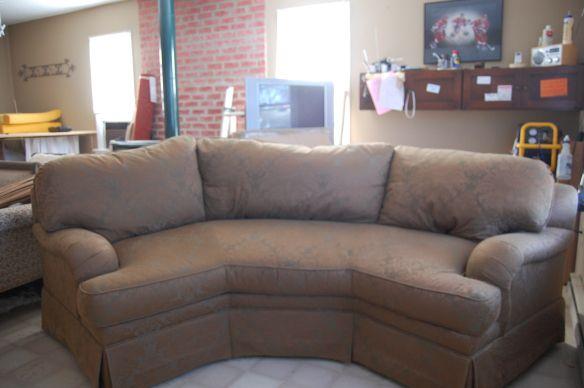 Pleasant Half Hexagon Shaped Sofa Sofa Furniture Home Decor Inzonedesignstudio Interior Chair Design Inzonedesignstudiocom