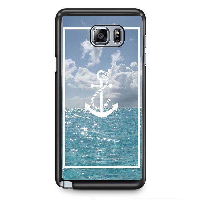 Anchor Sea Art TATUM-759 Samsung Phonecase Cover Samsung Galaxy Note 2 Note 3 Note 4 Note 5 Note Edge