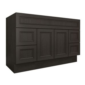Found My Vanity Home Hardware 48 X 21 2 Door 4 Drawer Dark Grey