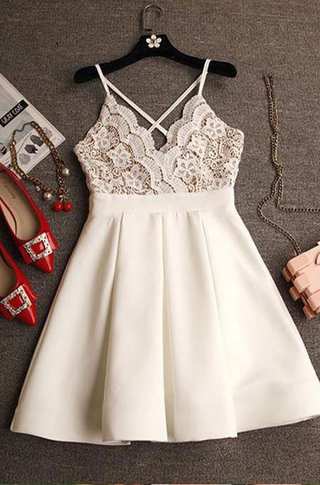 The+Homecoming+dress+can+be+made+in+custom+size&+custom+color,and+it+will+be+not+more+extra+cost,you+can+choose+the+color+and+size+from+my+color+chart+and+size+chart.My+Dresses+are+with+fully+linked+and+boning+in+the+bodice.About+more+information,please+check+the+following: Quick+View 1.Silhoue...