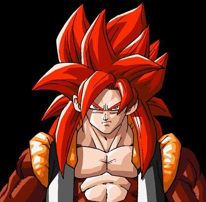 Gogeta Personajes De Dragon Ball Personajes De Goku Dragones