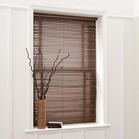 25mm Extended Drop Wooden Venetian Blinds Dunelm 163 54 99