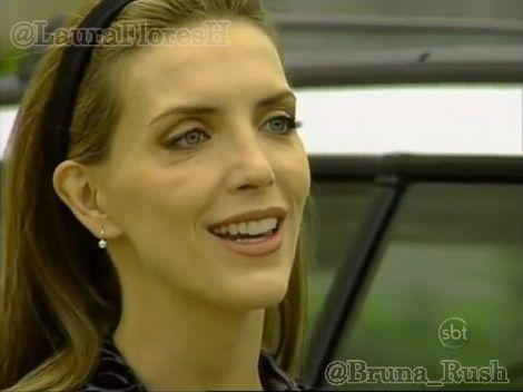Laura Flores como Maria Fernanda de Santiago em Gotinha de Amor, Brasil - Cap 10