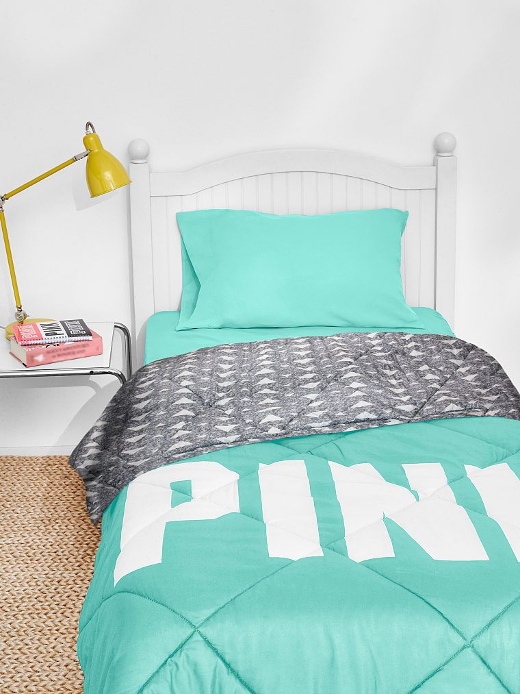 Pink Mint Green Aztec Bed In A Bag Size Full