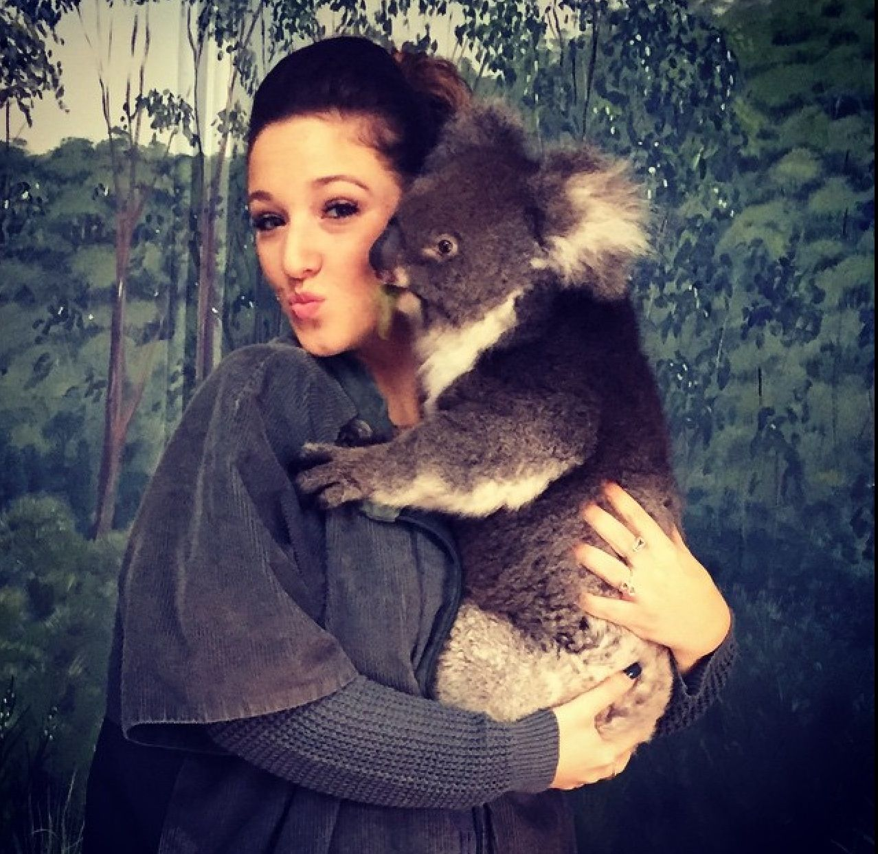 Gianna hugging a koala in Australia. | Koala, Koala bear ... - photo#12