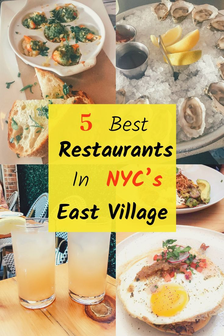 The Best Restaurants In The East Village In 2020