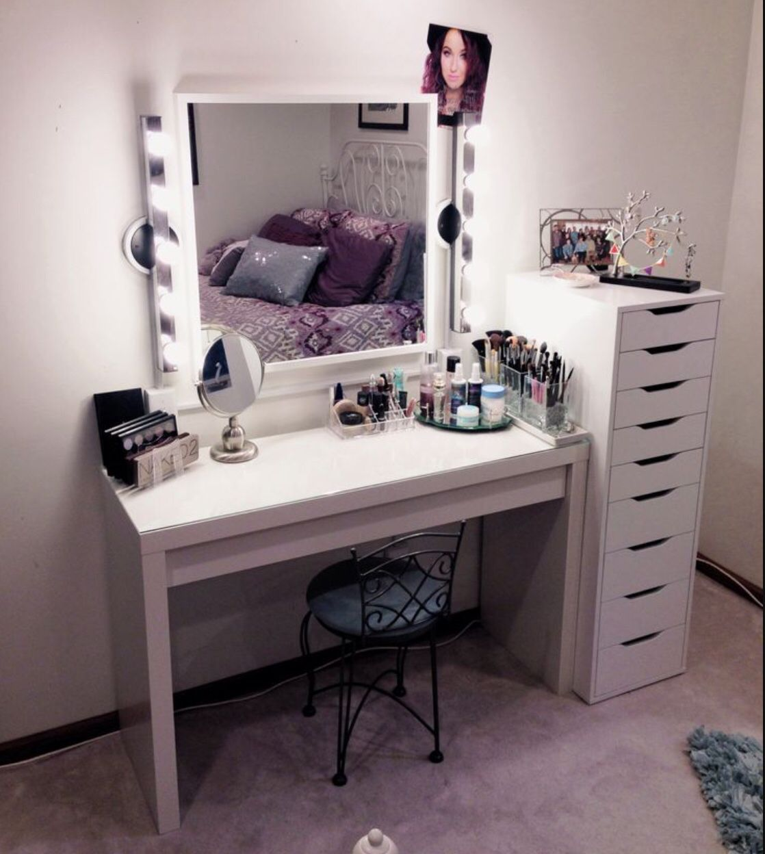 ikea is calling my name makeup room pinterest. Black Bedroom Furniture Sets. Home Design Ideas