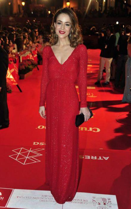 Silvia Abascal. La alfombra roja de la inauguración del Festival de Cine de Málaga